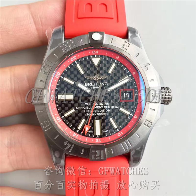 百年灵复仇者二代世界时间腕表黑钢中国限量版 Breitling Avenger II GMT Blacksteel China Edition